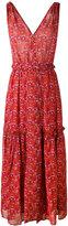 Ulla Johnson floral print flared dress - women - Silk - 6