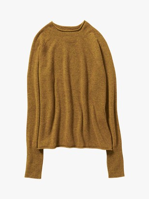 Toast Mira Wool Cashmere Sweater, Ochre
