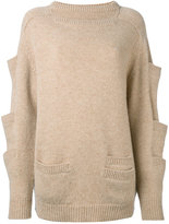 Christopher Kane stacked pocket knit