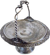 One Kings Lane Vintage Antique American Silver Plate Basket