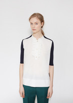 Marni Ruffled Neck Blouse