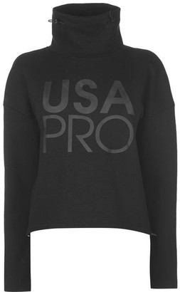 USA Pro Pro Funnel Neck Sweatshirt Ladies