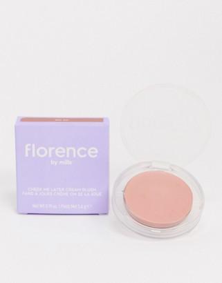 Florence By Mills Cheek Me Later Cream Blush - Shy Shi