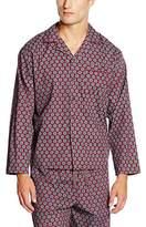 Cyberjammies Men's Claret and Blues Pyjama Top,S