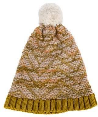 Missoni Knit Pom-Pom Beanie