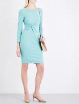 Armani Collezioni Knot-detail stretch-jersey dress