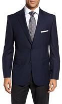 JB Britches Men's Classic Fit Solid Wool Sport Coat
