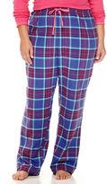 SLEEP CHIC Sleep Chic Flannel Pajama Pants-Plus