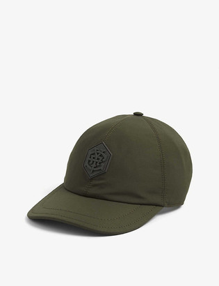 Eleventy Logo-front satin baseball cap