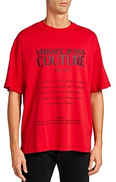 Versace Jeans Couture Warranty Label Tee