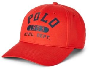 Polo Ralph Lauren Men's Baseline Twill Ball Cap