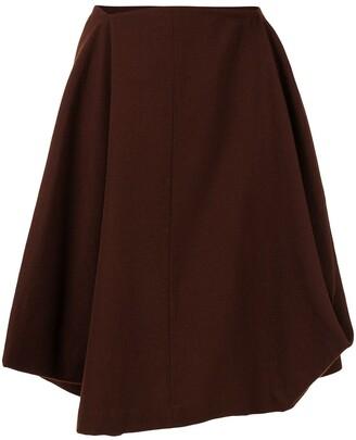 Comme Des Garçons Pre Owned Handkerchief Skirt