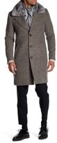 Antony Morato Detachable Genuine Beaver Rabbit Fur Collar Coat