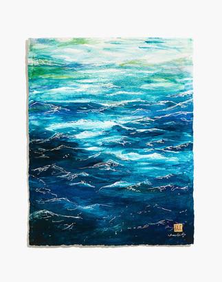 Madewell Cromwell Home Deep Waters Art Print