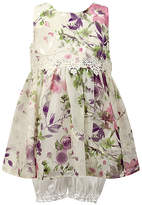 Jayne Copeland Lilac Floral Sleeveless A-Line Dress & Bloomers - Infant