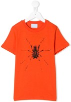 Lanvin Enfant spider print t-shirt