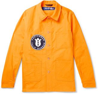 Junya Watanabe + La Labourer Printed Cotton-Canvas Shirt Jacket