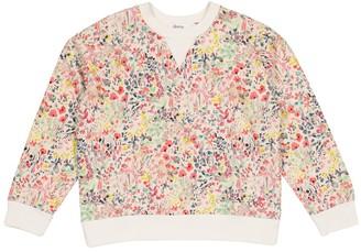Bonpoint Floral cotton-jersey sweatshirt