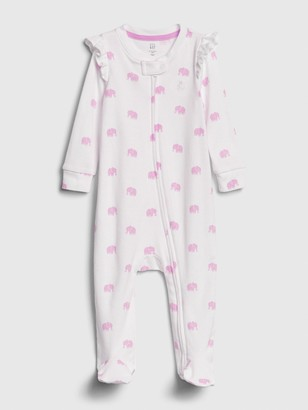 Gap Baby Print Footed One-Piece