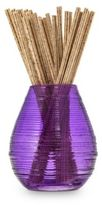Joy Mangano Forever Fragrant® 20-Count Tranquil Lavender Sticks with Seaglass Vase in Purple