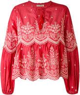 Ulla Johnson scalloped embroidery blouse - women - Cotton - 2