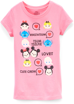 Jerry Leigh Strawberry Disney Tsum Tsum '#Instatsum' Tee - Girls