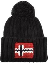 Napapijri Semiury Bobble Hat Black
