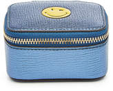Anya Hindmarch Smiley Small Metallic Leather Keepsake Box