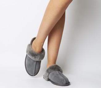 UGG Scuffette II Slippers Grey Mono