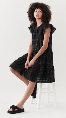 Sea Lina Eyelet Tiered Tunic Dress
