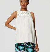 "LOFT Petite Maternity Jungle Floral Riviera Shorts with 3 1/2"" Inseam"