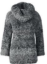 Classic Women's Hand Knit 3/4 Sleeve Sweater-Cherry Jam