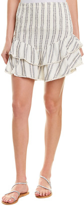 Theory Sage The Label Mini Skirt