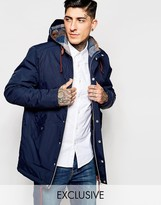 Minimum Parka With Hood Exclusive - Blue