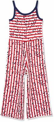Tuc Tuc RED Striped Jersey Jumpsuit for Girl Lost Ocean