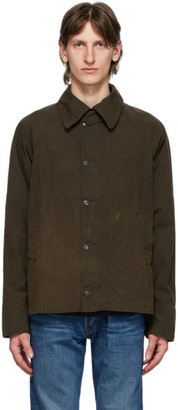 Barbour Brown Engineered Garments Edition Washed Graham Jacket