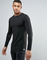 Jack and Jones Core Muscle Fit Long Sleeve T-Shirt
