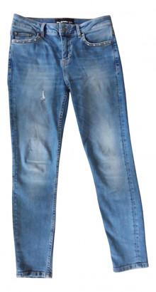 The Kooples Blue Cotton Jeans
