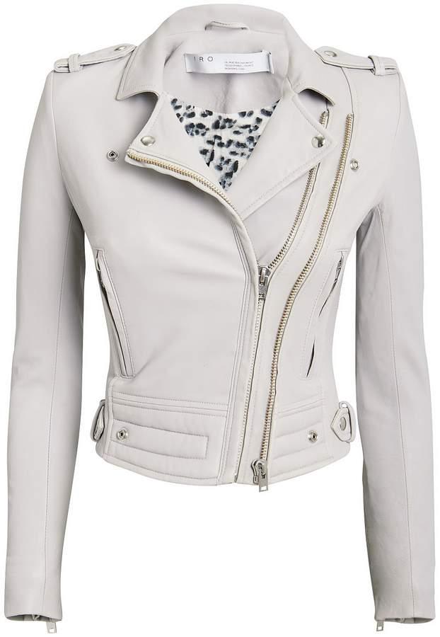 IRO Luiga Leather Moto Jacket