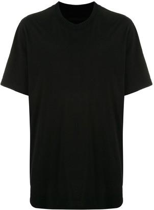 Julius ribbed neck cotton T-shirt