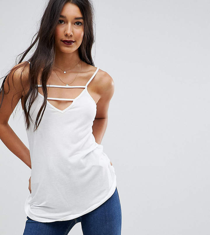 Asos Tall TALL The Ultimate Cami With Caging Detail