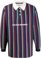 Drôle De Monsieur striped polo shirt