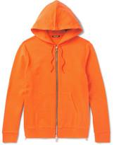 Balmain Slim-fit Loopback Cotton-jersey Hoodie