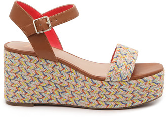 Mix No. 6 Women's Cammie Wedges Sandals Multicolor Size 5 Faux Leather From Sole Society