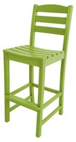 Polywood La Casa Bar Height Patio Dining Side Chair Collection
