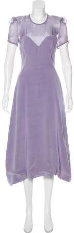 Giles Silk Midi Dress