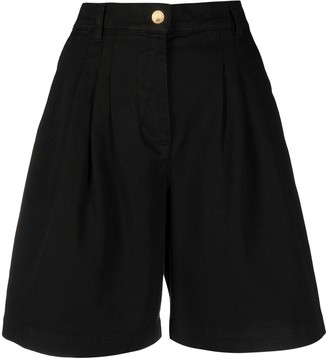 Alberta Ferretti High-Waist Shorts