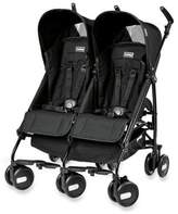 Peg Perego Pliko Mini Twin Stroller in Onyx