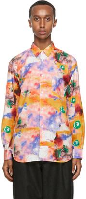 Comme des Garçons Shirt Multicolor Futura Edition Print Shirt