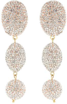 Lele Sadoughi Bubble crystal-embellished earrings